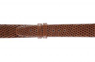 Uhrenarmband Eidechsenleder K0500N brown