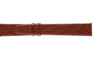 Uhrenarmband Eidechsenleder K0500N cognac
