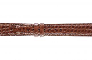 Uhrenarmband Alligatorleder K0702L brown 60018