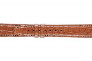 Uhrenarmband Alligatorleder K0702L brown 60141