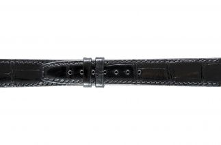 Uhrenarmband Alligatorleder K0704LL black