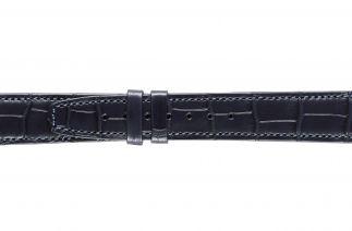 Uhrenarmband Alligatorleder K0704MES blue 60041