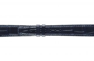 Uhrenarmband Alligatorleder K0704ML blue 60041