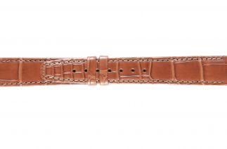 Uhrenarmband Alligatorleder K0704ML brown 60141