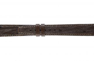 Uhrenarmband Straussenleder K0900L brown