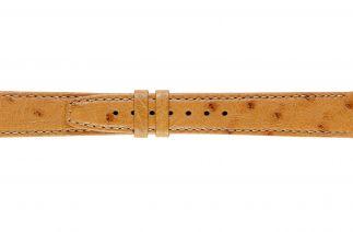 Uhrenarmband Straussenleder K0900L cognac