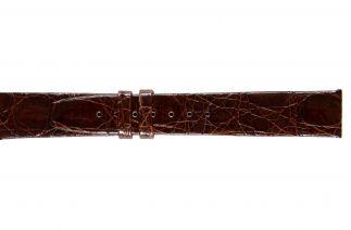 Uhrenarmband Krokodilleder F020N brown