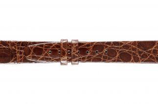 Uhrenarmband Krokodilleder F020N gold