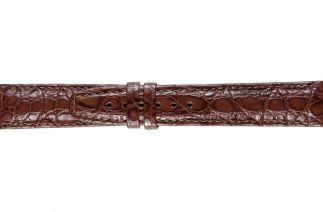 Uhrenarmband Krokodilleder F022B brown