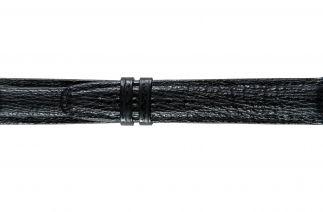 Uhrenarmband Haifischleder F062B black