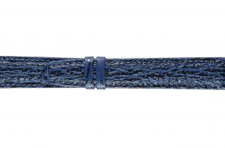 Uhrenarmband Haifischleder F062B dark blue