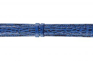 Uhrenarmband Haifischleder F062B light blue